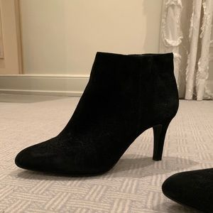 Alex Marie Black Suede Booties